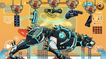 Robot Police Iron Panther: Gameplay Assembly