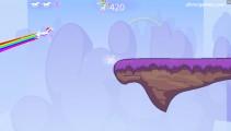 Robot Unicorn Attack: Gameplay Unicorn