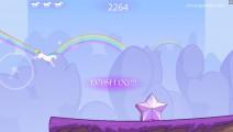 Robot Unicorn Attack: Gameplay Unicorn Jump Run