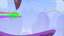 Robot Unicorn Attack: Gameplay Unicorn Running