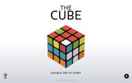 Rubik's Cube Simulator: Menu Cube