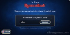 Rummikub Online: Menu