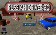 Russian Driver 3D: Menu