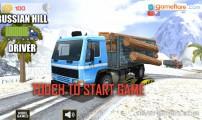 Russian Hill Driver: Menu