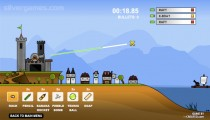 Sand Castle: Gameplay Destruction Fleet