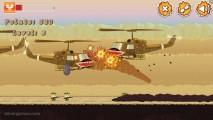 Sandworm: Gameplay Worm Attacking Heli