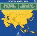 Scatty Maps Asia: Menu