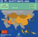 Scatty Maps Asia: Asia Map