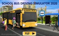 School Bus Simulator: Menu