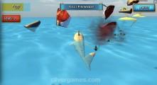 Shark Simulator: Gameplay Shark Killing Beach