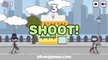 Shoot Or Die: Shoot Opponent Reflexes