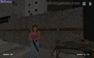 Shoot Your Nightmare Double Trouble: Gameplay Woman Hunting Zombies