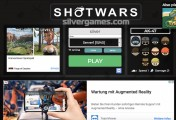 Shotwars.io: Menu