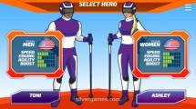 Ski Slalom: Hero Selection