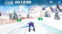 Ski Slalom: Gameplay Skiing