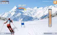 Slalom Ski Simulator: Hurdle Skying
