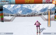 Slalom Ski Simulator: Final Race Skying