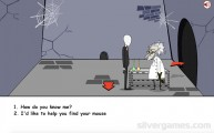 Slenderman Saw Game: Dialogue Point And Click Scientist
