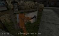 Slenderman Vs Freddy The Fazbear: Gameplay Teddy Abandoned City