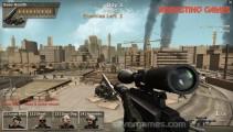 Sniper Team: Menu
