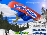 Snowboard Rush: Menu