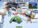 Snowboard Rush: Gameplay Snowboard Stunts