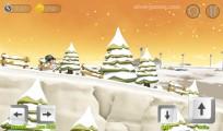 Snowcross Stunts X3M: Skiing Gameplay
