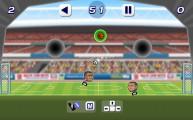 Soccer Heads: Soccer Goal Gameplay