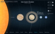 Solar System Simulator: Screenshot