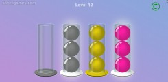Ball Sort: Color Balls Glass