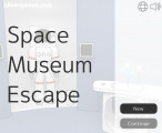 Space Museum Escape: Menu
