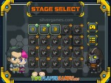 Space Prison Escape: Stage Selection
