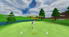 Speedy Golf: Stroking Golfball Gameplay