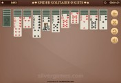 Spider Solitaire 2 Suits: Gameplay Cards
