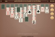 Spider Solitaire 2 Suits: Gameplay Cards Playing