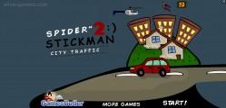 Spider Stickman 2: Menu