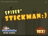 Spider Stickman: Platform Game