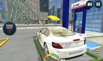 Sports Car Wash: Fuel Station