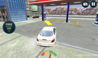 Sports Car Wash: Driving To Gas Station
