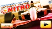 Sprint Club Nitro: Menu