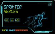 Sprint Heroes 2 Player: Menu