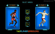 Sprint Heroes 2 Player: Runner Selection