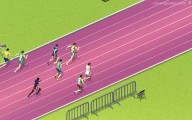 Sprint Heroes 2 Player: Gameplay Running