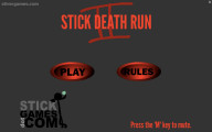 Stick Death Run 2: Menu
