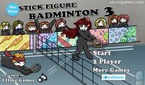 Stick Figure Badminton 3: Menu