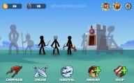 Stick War Legacy 2: Menu