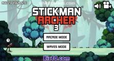 Stickman Archer 3: Menu