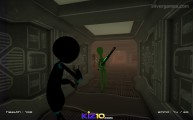 Stickman Armed Assassin Cold Space: Gameplay Shooting