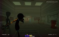 Stickman Armed Assassin Cold Space: Gameplay Shooting Laser