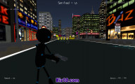 Stickman Armed Assassin Going Down: Big City Battle